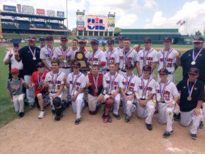 West Trojans 2016 Baseball 3A State Champions
