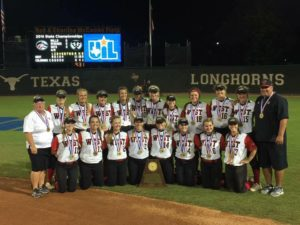 West Lady Trojans 2016 Softball 3A State Champions